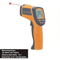 Quality 900℃ Gun Type Digital Portable Laser Infrared Thermometer Hygro Thermometer IR900 for sale