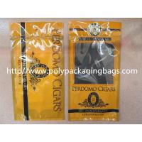 Buy Plastic Cigarettes Cigar Humidor Bags With Hanger Hole Personalized Style at wholesale prices