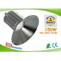 Quality Super Bright Industrial Warehouse Lighting 150w Led High Bay Light Silver for sale
