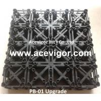 Quality PB-01 Upgrade Interlocking Plastic Grid for DIY deck tiles for sale