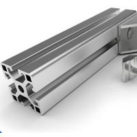 Quality 6063 - T5 Aluminium Profile System Electrophoretic Coated for Bending Cutting for sale