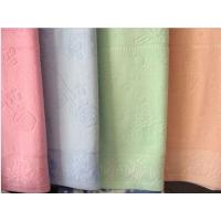 China plain terry towel blanket on sale