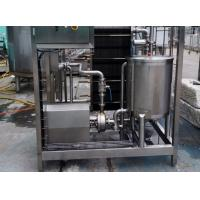 Buy cheap 10TPH Beverage Plate Type Sterilizer SUS304 Heat Exchanger With Hot / Chilled Water from wholesalers