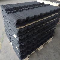 Quality Modern Nosen / Flat / Roman Stone Coated Roof Tiles for Villas / Townhouses for sale