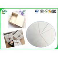 Quality 400g - 1000g Waterproof Gray Core Double - sided Whiteboard Paper Sheets For Packages Box for sale