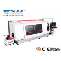 Quality 500W CNC Laser Metal Cutting Machine / Laser Tube Cutting MachineChiller Coolding Type for sale