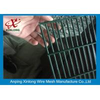 Buy cheap Galvanized Prison Welded Wire Mesh Fence / Anti-climb 358 High Security Fence from wholesalers