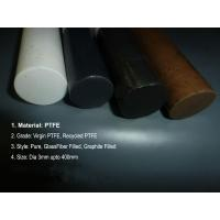 Quality Bronze Fiber PTFE Teflon Rod Glass Carbon Graphite / Beads Filled for sale