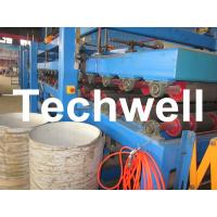 Quality Rock Wool Insulated Sandwich Panel Cold Roll Forming Machine 0 - 4.05 m / Min Speed for sale