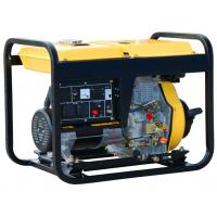 Buy cheap Economical Diesel Powered Portable Generator 6.5kw Single Phase AC TW 8500QX from wholesalers