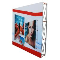 Quality Outdoor pop up banners wall display / trade show booth banners for sale