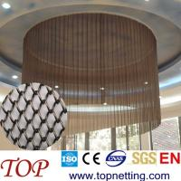 Quality Metallic coil drapery/metal drapery/room divider curtain for sale