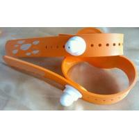 Quality RFID Soft Silicone Prevent Tear Down Wristband, RFID Soft PVC Prevent Tear Down Wristband for sale