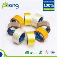 Quality China supplier transparent waterproof adhesive tape for carton binding for sale
