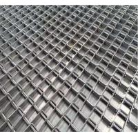 Honeycomb Wire Stainless Steel Wire Belt Conveyor For Food Industry Strong Tension