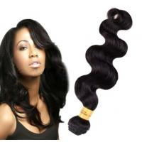 Quality Long Lasting100 Indian Human Hair Weave For Black Women Body Wave for sale