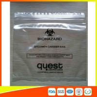 Industrial Reclosable Plastic Bags , Packaging Zip Lock Bags Biodegradable FDA Approved