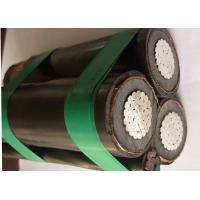 Quality 185mm2 Twisted MV Overhead Insulated Cable Steel Wire Neutral Weather resistant for sale