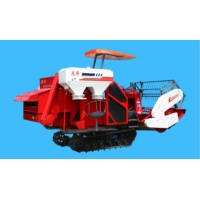 Quality Manual Unloading Full Feeding Rice Combine Harvester 45kw for sale