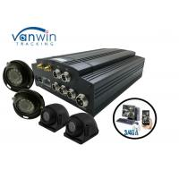 Quality 4 / 8CH HDD AHD 720P GPS 3G 4G and WiFi MDVR with 4 HD Cameras for Truck for sale