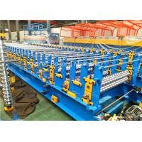 Automatic Double Layer Roll Forming Machine 7.5KW 0.4-0.8mm Thickness