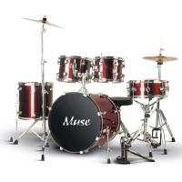Buy OEM 5 Pcs Lacquer Bass Drum / Floor Tom / Tom Tom Full Size Drum Set A505Q-701 at wholesale prices