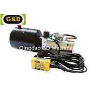 Buy cheap Horizontal Mounting DC 12V Hydraulic Power Unit with Manual Override from wholesalers