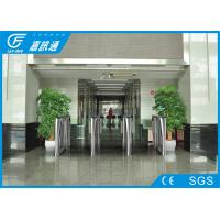 Quality Swing Metro Electronic Turnstile Gates Rfid Reader System Voice Remind Function for sale