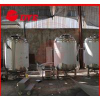 Buy Customized Alcohol Storage Bright Beer Tank With CE Approved at wholesale prices