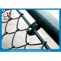 Quality DIY Chain Link Diamond Wire Mesh Fence / PVC Coated Welded Wire Fencing for sale