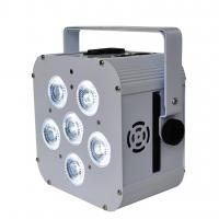 Quality 6 Pcs Automated 6in1 Wireless Par Lights Led Battery Lighting Long Life Span for sale