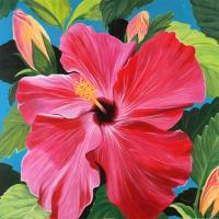Quality flower painting wall art painting flower art for sale