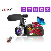 Quality 30 FPS 3'' Touch LCD Screen Video Camera Camcorder 2.7K 30MP 18X Digital Zoom IR Night Version for sale