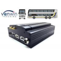 Quality Vehicle MDVR D1 H.264 HDD 8 Channel Mobile DVR 3G WIFI Car DVR Recorder 4G GPS for sale