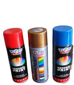 Quality Powder Coating Aerosol Acrylic Spray Paint OEM Silver Color for sale