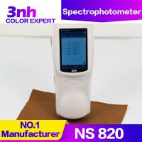 Quality 3nh NS820 Portable Cpaint Matching Spectrophotometer 4mm Small Aperture Color Difference Meter for sale