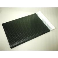 Quality PET Black Bubble Lined Envelopes , 6x10 Bubble Mailers Size 0 Impact Strength for sale
