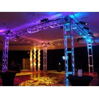 Buy 250*250 MM Screw  Trade  Aluminum Square Truss For Exhibition Booth at wholesale prices