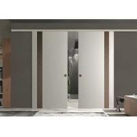 Sound Proof Classic Double Interior Sliding Barn Doors For Homes CE Approved