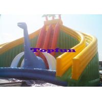 China Attractive Slide Jumper Bouncer Bouncy Children Inflatable Slide Beach Fun on sale