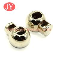 Quality jiayang Custom colour metal cord lock end stopper for string for sale