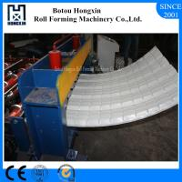 Quality Colored Steel Roofing Sheet Crimping Machine For Curving 120 Degree Bend Angle for sale