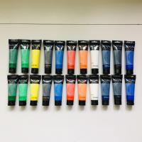 Quality Artist's Acrylic painting Color Value Series 100ml & 75ml Phoenix for sale