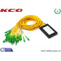 Quality LC APC Fiber Optic PLC Splitter for sale