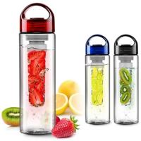 China 600ml Exquisite Fruit Bottles, BPA FREE with FIlter Tube on sale