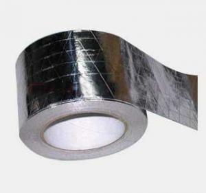 Quality Self Adhesive Aluminum Adhesive Tape / High Temperature Aluminum Tape Foil Tape For Insulation for sale