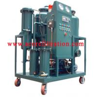 Quality VHF Waste Hydraulic Oil Filtration Flushing Machine for sale