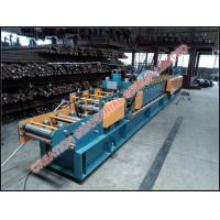 Quality Steel Garage Shelves Making Roll Form Machines With Holes Punching Machine for sale