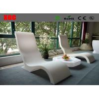Buy cheap Solid Led Glowing Lounge Chair Sun Bed Pool Chairs 3 Years Warranty from wholesalers