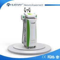 Buy cheap 5 cryo handles cryolipolysis cavitation rf slimming machine cool tech shape fat freezing from wholesalers